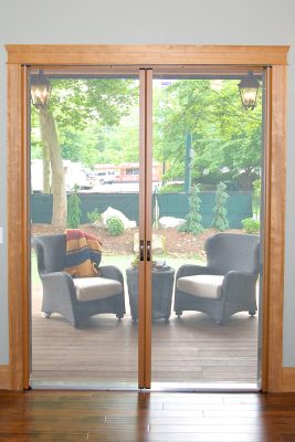 French Door to Outside Seating
